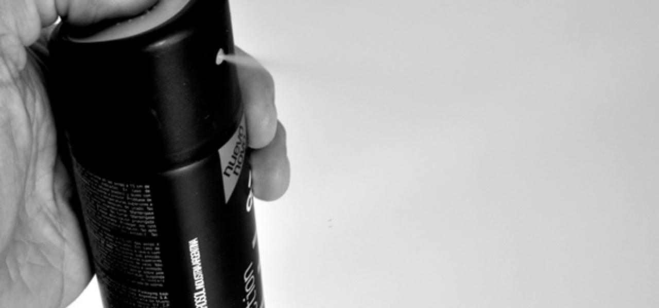 desorante en spray sin parabenos