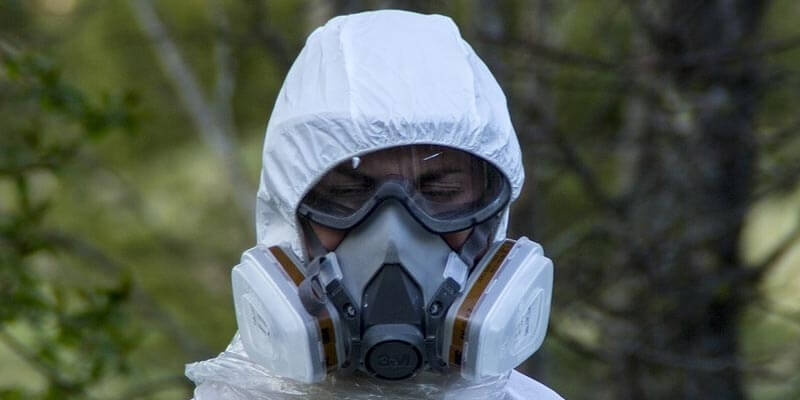 mascarillas contra gases tóxicos