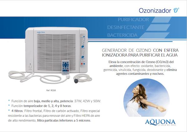 ozonizador aquona